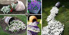 vaso-originale-riciclo2 Garden Design, House Design, Vertical Planter, Small Gardens, Fairy Gardens, Yard Art, Backyard Landscaping, Vegetable Garden, Container Gardening