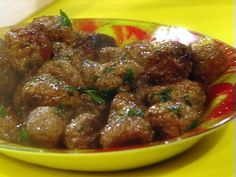 Greek Meatballs in Wine Sauce Recipe : Rachael Ray : Food Network - FoodNetwork.com