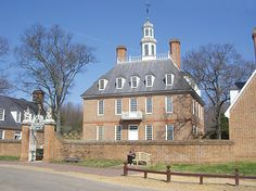 Colonial Williamsburg, a 301-acre living history museum recreates 18th-century life in the capital of Virginia.