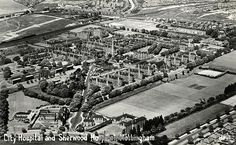 Aerial view of Nottingham City Hospital (upper left of centre) and Sherwood Hospital (left of., Stock Photo, Picture And Rights Managed Image. Stock Pictures, Old Pictures, Stock Photos, Nottingham Map, City Hospital, Aerial View, Photo Library, City Photo, Framed Prints