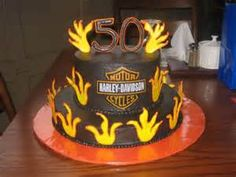 50th Birthday Party Ideas - Bing Images.  This would be a good cake for Mark's birthday.