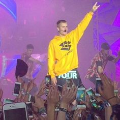 June 25: [More] Fan taken photos of Justin performing at the Wireless Festival in Frankfurt, Germany.