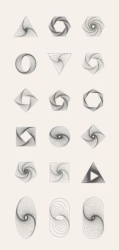 MASSIVE GEOMETRY BUNDLE - Illustrations