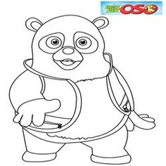 Disney Junior Coloring Pages Special Agent Oso 1 Free Disney