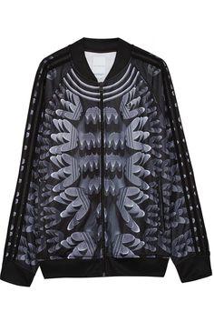 adidas Originals|+ Mary Katrantzou Monster Marathon twill track jacket|NET-A-PORTER.COM