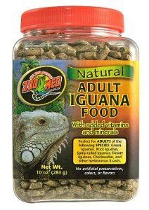 Zoo Med Adult Iguana Food 283g by Peregrine Live Foods at the Pet-r-us.com