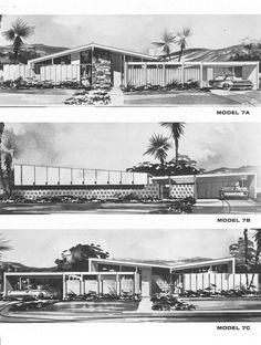 Plan 7 – The Bill Krisel Designs Of Paradise Palms In Las Vegas