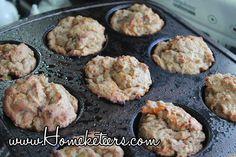 Hidden Veggies Recipe: Banana Oatmeal & Sweet Potato Muffins