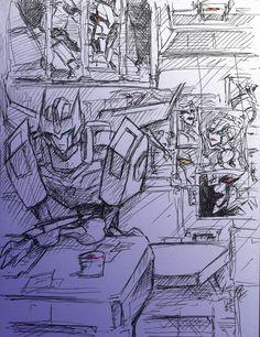 Doodle Roddy and Galvatron 2 by Aiuke.deviantart.com on @DeviantArt