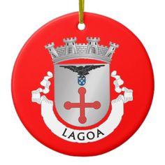 Lagoa* Ceramic Cristmas Ornament