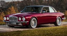 Vintage Cars Classic Timeless Jaguar XJ Coupe Gets A Classy Makeover - The two-door Jaguar XJ Coupe enjoyed a relatively limited run fro, Jaguar Cars, Jaguar E Type, Fiat 126, Jaguar Xjc, Austin Martin, Automobile, Jaguar Daimler, British Sports Cars, Best Muscle Cars
