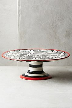 Felicitation Small Cake Stand #anthropologie