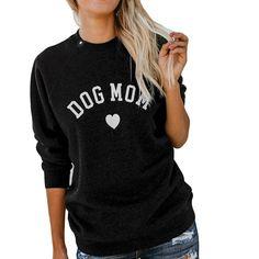 0af04199d Dog Mom Sweater Dog Mom Gifts, Dog Lover Gifts, Dog Lovers, Mom Shirts