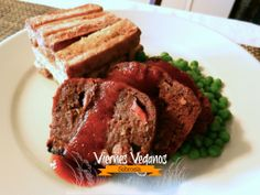 "Pastel de ""carne"" vegano"