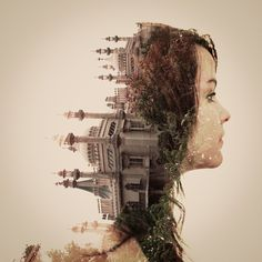 Faith is Torment | Art and Design Blog: Double Exposure Portraits by Dan Mountford