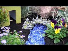 Fairy garden in a pot - YouTube