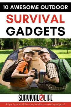 Looking for new outdoor survival gadgets to add to your collection? Look no further. Here are 10 of the best outdoor survival gadgets for all your outdoor and survival needs. #survivallife #survival #preparedness #survivalist #prepper #camping #outdoors #spring #outdoorsurvivalgadgets #survivalgadgets Survival Gadgets, Survival Life Hacks, Survival Guide, Survival Gear, Survival Skills, Emergency Preparation, Camping Outdoors, Outdoor Survival, Shtf