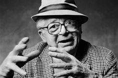 """Billy Wilder  """"Billy In Hat""""  Los Angeles, CA 1986  photo by Norman Seeff"""