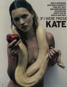 Kate Moss, George Magazine 1997