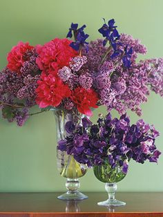 Red & Pruple - Photos & Ideas anyone? :  wedding purple red theme Redpurple Red and Purple always work together