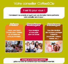 Votre conseiller Coffee&cie Café, thé, vente à domicile