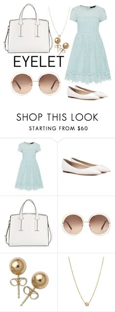 """""""Church Mom named Debra"""" by ggaaaayyyyy ❤ liked on Polyvore featuring Hallhuber, Jimmy Choo, French Connection, Chloé, Bling Jewelry and ZoÃ« Chicco"""
