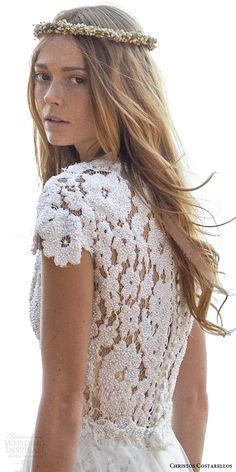 Christos Costarellos Spring 2016 Wedding Dresses | Wedding Inspirasi