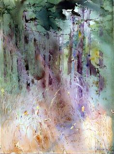 Alice Ravenel Huger Smith, watercolor, S. Carolina
