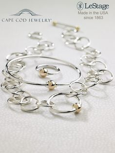 he gift that is just right for Mom! Cape Cod Bracelets come in at number 8 on our Best Christmas Gifts for Mom list because they have been a popular jewelry item for years! This is the timeless Classic Cape Cod Bracelet from Lestage - and we have the best prices on the net!