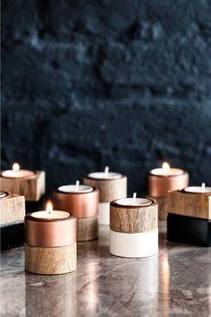 Teelichthalter / Tealight candle holder