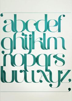 Typography by Antonio Rodrigues Jr  <3 <3