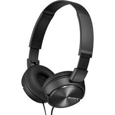 Buy Sony ZX310 On-Ear Headphones - Black at Argos.co.uk, visit Argos.co.uk to shop online for Headphones and earphones, iPod, MP3 and headphones, Technology