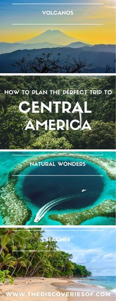 Central America is one of the hottest travel and backpacking destinations. Here's everything you need to know to plan the perfect Central America itinerary - whether you're travelling to Belize, Panama, Costa Rica, El Salvador, Nicaragua or Honduras. Expect awesome food, culture and beaches during your vacation. Read the full guide. #travel #centralamerica #backpacking