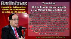 OAB DE BRASÍLIA NEGA REVALIDAÇÃO A JOAQUIM BARBOSA