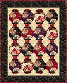 Lanterns Quilt Pattern (advanced beginner, lap and throw, home decor & houseware) Show off beautiful, oriental fabrics with this quilt pattern! Easy snowball blocks create the lanterns in this quilt. Finished sizes: Lap and Throw: x Table Runner: x A Shor