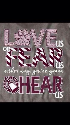 Love us, Fear us, Either way you'll hear us!