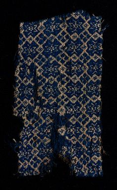 silk and wool, 14th cent. Venice