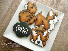 SugarBliss Cookies: SugarBliss Corgi
