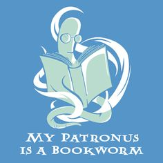 My patronus is a bookworm!