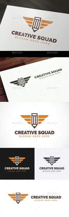Creative Squad Logo Template PSD, Vector EPS, AI Illustrator. Download here: https://graphicriver.net/item/creative-squad-logo/17085865?ref=ksioks