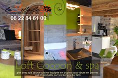 gîte avec spa sauna privatif piscine Aveyron pour un séjour en amoureux dans les Gorges du Tarn SOLEILO, chambres d'hôtes, gîte et spa 4 épis Mostuéjouls Gorges du Tarn Sud Aveyron Lozère Midi-Pyrénées Languedoc Roussillon - tel 06 22 84 61 00 - 06 24 06 80 54 - http://www.lesoleilo.com/fr/gite-loft-cocoon-et-spa