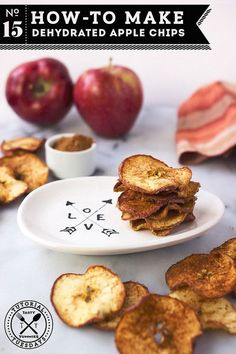 How-to Make Dehydrated Apple Chips // Tasty Yummies (includes options for oven)