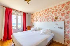 Chambre double confort vue sur mer Hotel Kyriad Saint Malo Plage
