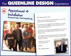 Men of vision at Queenline Kitchens and Bedrooms