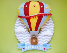 Guirlanda de maternidade balão colorido