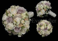 Annabelle - Vintage design, Bridal Bouquet  $250