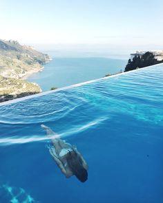 l'hôtel Caruso   côte Amalfitaine, en Italie, du côté de Positano  FRINGE&FRANGE: Postcard from Positano