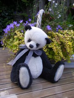 This is Balou the panda.