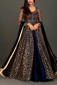6Y Collective Indian Fashion Dresses, Indian Gowns Dresses, Indian Designer Outfits, Dress Indian Style, Eid Dresses, Indian Outfits, Stylish Dress Designs, Designs For Dresses, Stylish Dresses