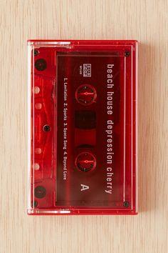 Beach House - Depression Cherry Cassette Tape